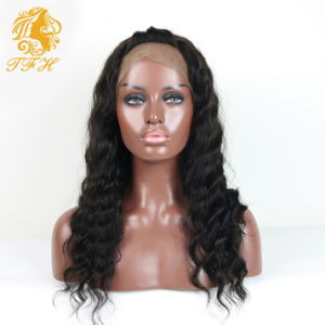 High Density Front Lace Wigs Full Lace Human Hair Wigs Malaysian Curly Human Hair Lace Front Wigs Black Women pictures & photos