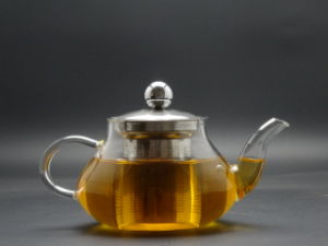 Wholesale - 500ml High Resistance Glass Teapot, High Quality Single Wall Teapot pictures & photos