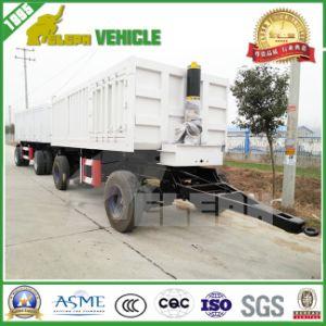 2 Axles Full Hydraulic Farm Drawbar Mini Dump Trailer pictures & photos