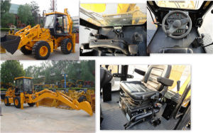 Yineng Wheel Loader 7 Ton Backhoe Loader Wz30-25 pictures & photos