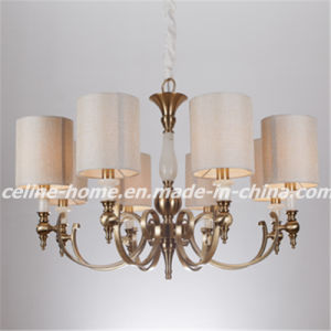 Traditional American Style Iron Chandelier Light (SL2072-8) pictures & photos