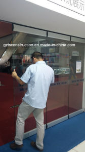 Commercial Frameless Glass Folding Door pictures & photos