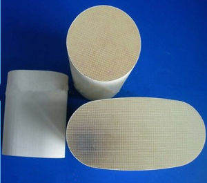 Cordierite Ceramic Honeycomb Substrate Honeycomb Ceramic Catalyst for Vehicle pictures & photos