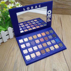 Lorac Mega PRO 32 Color Blue Package Matte Eye Shadow Palette pictures & photos