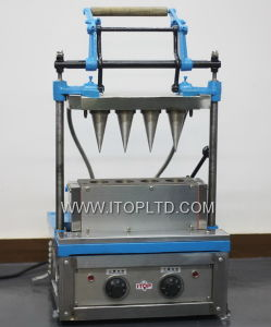4 Baker Industrial Electric Ice Cream Cone Machine (12-0001-4) pictures & photos