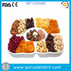 Fashion Ceramic Snack Platter and Fruit Tray pictures & photos
