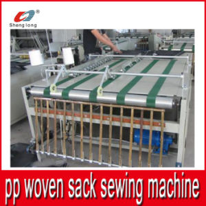 Auto Sewing Machine for Plastic PP Woven Sack Bag pictures & photos