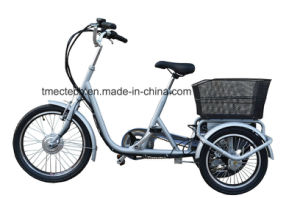 250watt, 36V 10 Ah, with Basket, CE, Electric Tricycle pictures & photos