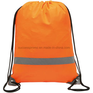 Reflective Backpack Drawstring Bag, OEM Orders Are Welcome pictures & photos