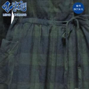 Fashion Plaid Ladies Dress Slip-on pictures & photos