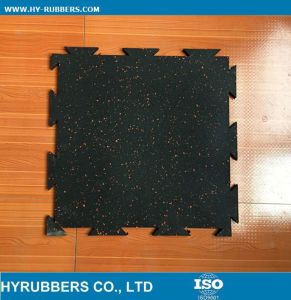 Dog Bone Rubber Tile, Gym Rubber Mat, Rubber Floor Mat pictures & photos