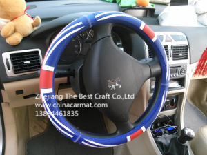 Silica Gel Steering Wheel Cover (Bt Sg03) pictures & photos