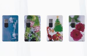 Full Color Printing Credit Card USB Flash Drive (CMT-CC003) pictures & photos