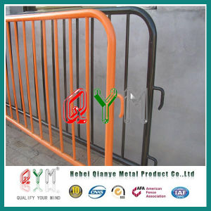 Galvanized Steel Crowd Control Barrier/ Stainless Steel Temporary Fence pictures & photos