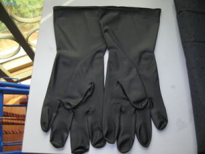 Latex Industrial Gloves for Working Use pictures & photos