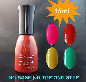 Wholesale 15ml UV 3in1/One Step Gel Polish Nail Art