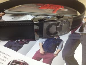 Men No Hole Leather Belts (HC-140507) pictures & photos