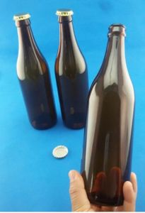 Wholesale Amber Beer Bottle/ Glass Beer Container pictures & photos