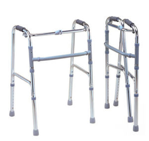 Aluminum Folding Walker Rollator, Height Adjustable pictures & photos