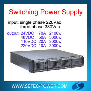19inch 2u, 110V/220V DC Rectifier System with N+1 Redundancy pictures & photos