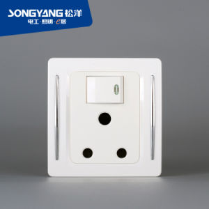 New Electric Switch White Series 13A Wall Socket pictures & photos