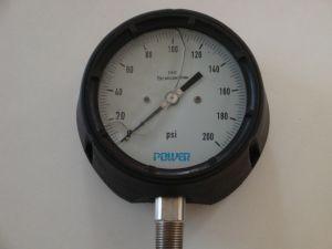 4.5inch 115mm Phenol Case Pressure Gauge with Thread 1/2NPT pictures & photos