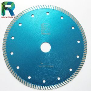 """7"""" Hot-Press Turbo Discs for Stone Marble Granite Concrete Cutting pictures & photos"""