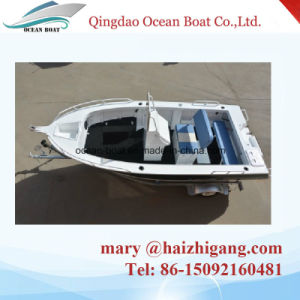 5.0m 17FT Center Cosole Boat Aluminum Alloy Fishing Boat with Ce pictures & photos