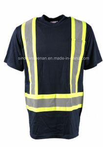 T-Shirt with Reflective Tape Safety Shirt pictures & photos