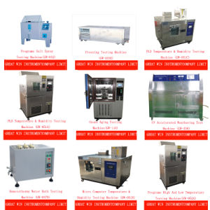 Programmable Durable Salt Spray Corrosion Test Chambers (GW-032) pictures & photos