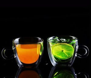 Borosilicate Glass Coffee Cup Double Wall Glass Espresso Cup pictures & photos