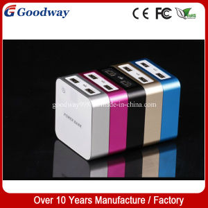 High Quality 7800mAh Cube Style Power Bank for Mobile Phone