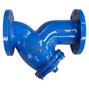 Cast Iron Double Flange Y Strainer, DIN3202 F1 Pn10/16 pictures & photos