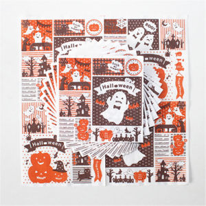 Disposable Paper Napkin for Hallowmas Party pictures & photos