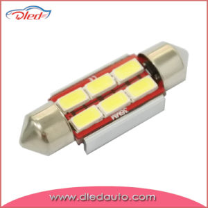 36mm 6*5730SMD/5630SMD Festoon Canbus LED Dome Light Auto LED Bulb