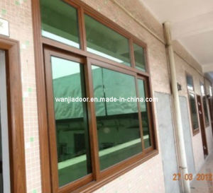 Wanjia Aluminum Sliding Window (WJ-Alu-W08) pictures & photos