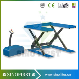 Durable Europe Standard High Quality Floor Scissor Lift Suppliers pictures & photos