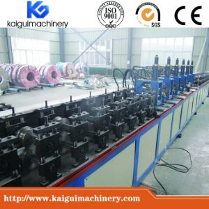 C U W Channel T Bar Angle Omega Roll Forming Machine pictures & photos