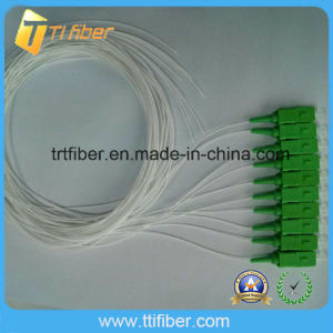 0.9mm Sc APC Single Mode Fiber Optic Pigtail pictures & photos