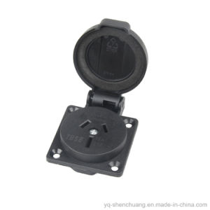 Waterproof Australian Style Socket SAA 060201 pictures & photos