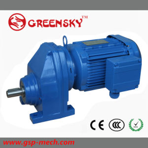 Miter Helical Motor Gearbox Transmission Gear Speed Reducer pictures & photos