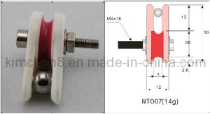 Caged Ceramic Pulley (NT007) Wire Jump Preventer pictures & photos