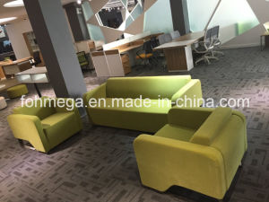 Creative Reception Office Sofa in Green (FOH-8695) pictures & photos