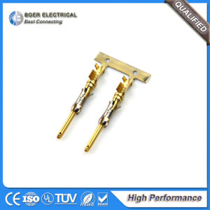 Auto Lighting Wiring Insert Parts Gold Plating Connector Terminal 929967-1 pictures & photos