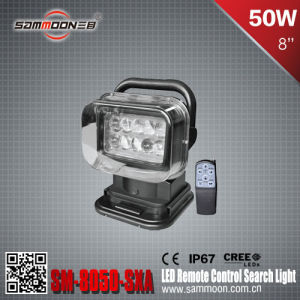 50W LED Remote Control Search Light for Searching (SM-8050-SXA)