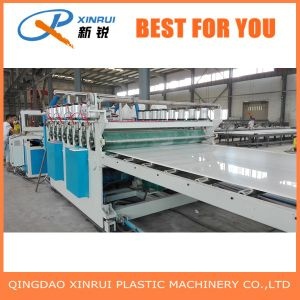 PVC Plastic Crust Foam Board Extruder Making Machine pictures & photos