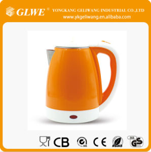 1.8L Electric Kettle with PP Body in Bright Color