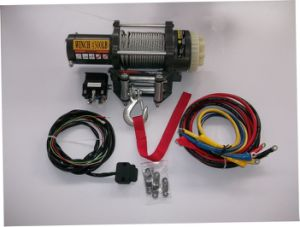 ATV Winch 4500lb with Lower Nosie