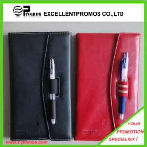 PU Leather Notebook with Pen (EP-B55511) pictures & photos