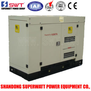 20kVA Diesel Generator by Kubota Power with Soundproof Canopy